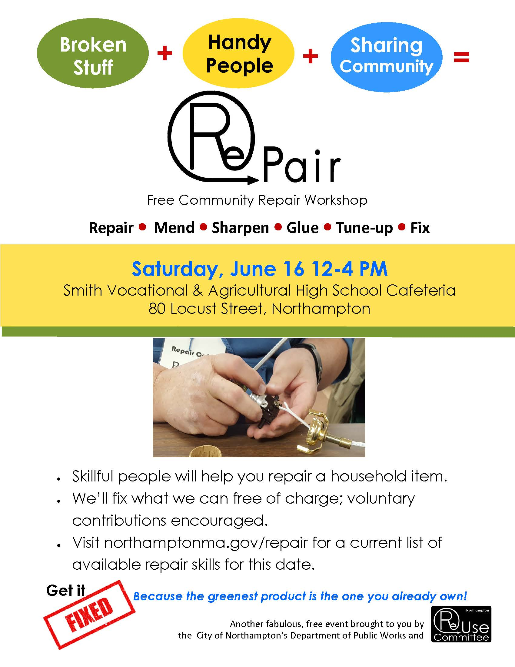 RePair June 2018 Flyer