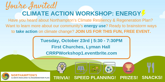 Image of Climate Action Workshop- Energy graphic