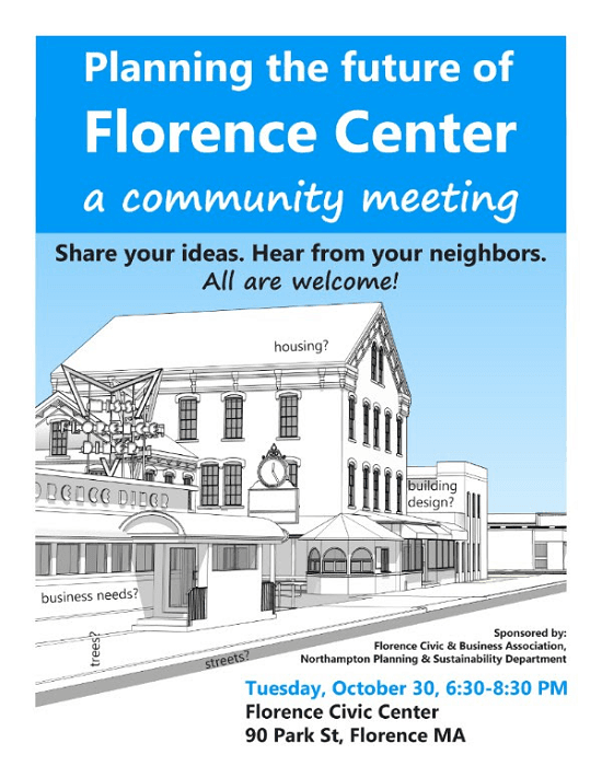 Image of Planning the Future of Downtown Florence flyer