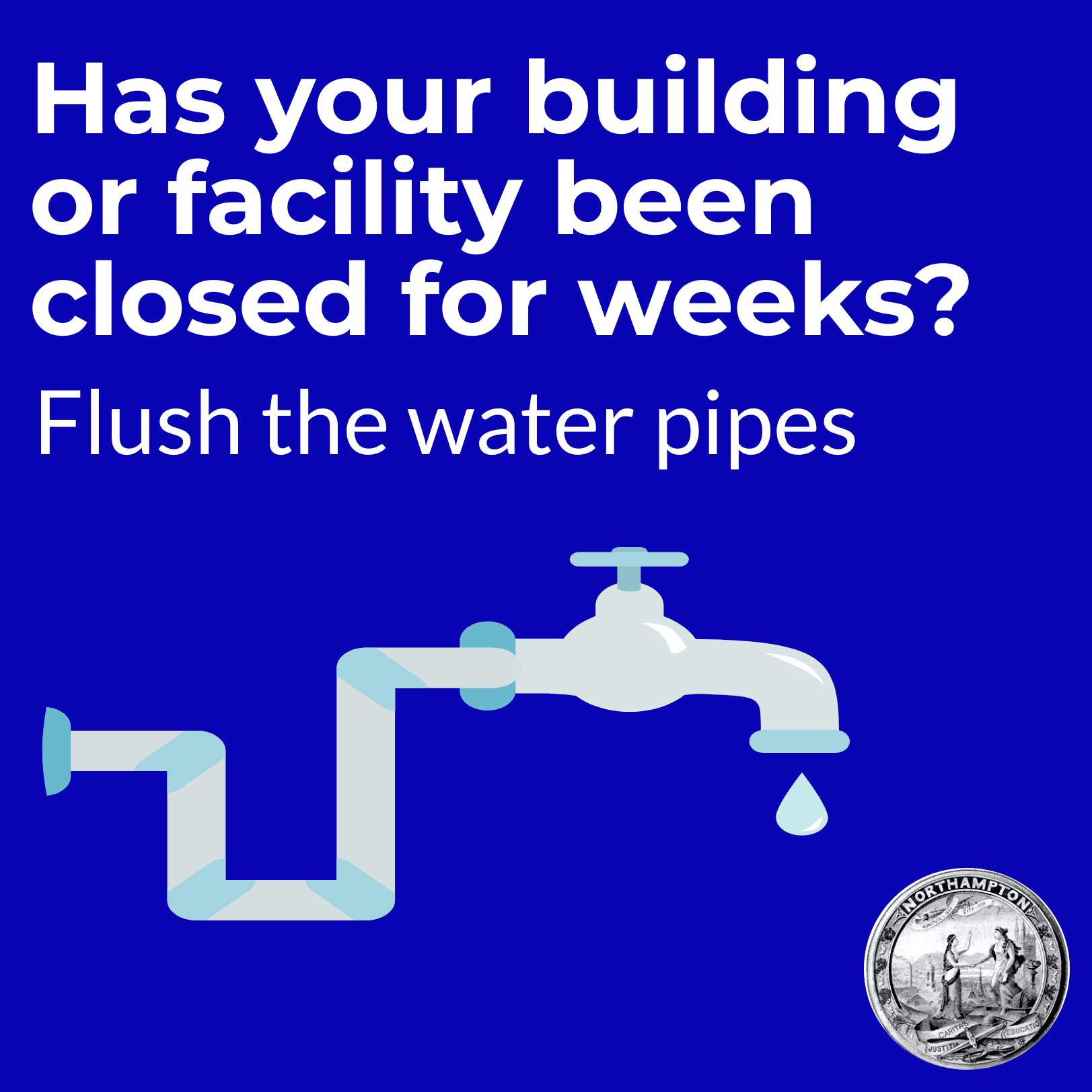 Image of Flushing Water Pipes