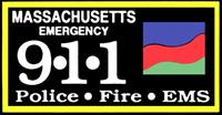 Massachusetts Emergency 911 Logo
