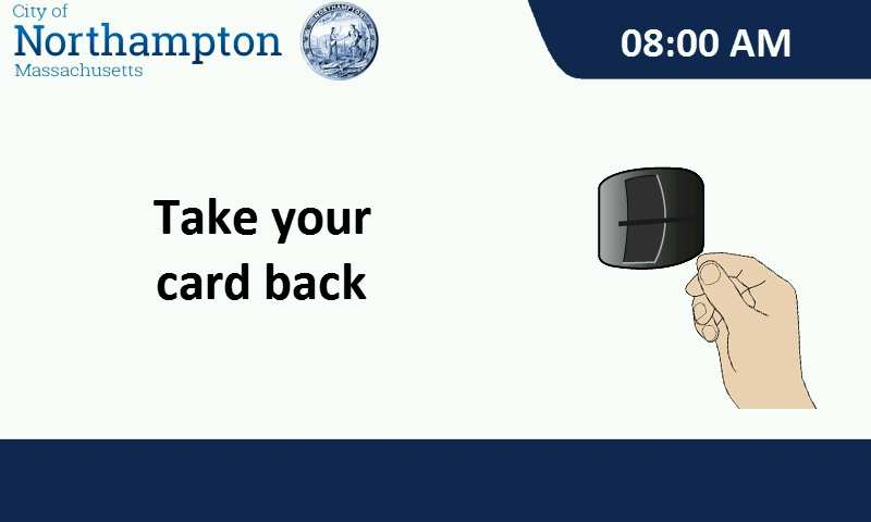 take your card back
