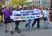 Citizens in the Pride March on May 4, 2013