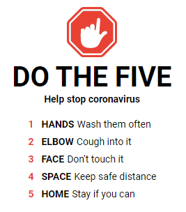 Image of do the five - clean hygiene